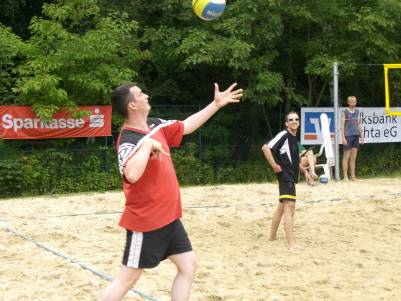 Turaner beim Beach-Volleyball-Turnier in Twistringen