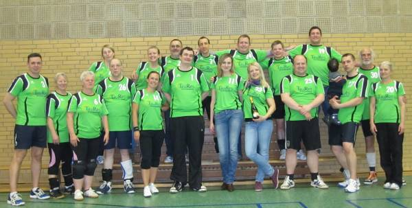 Freizeit-Mixed-Volleyballturnier